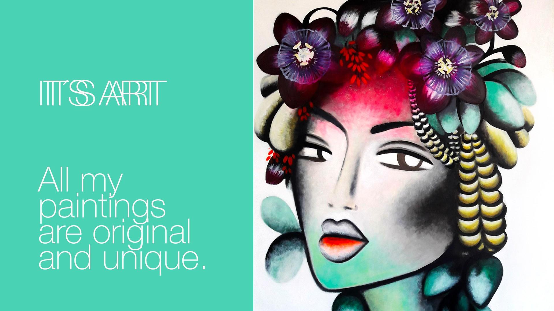 original artwork marbella